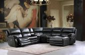 Living Room Furniture Reclining and Sliding Seats Sets 2711 Sectional with 3 Electric Recliners